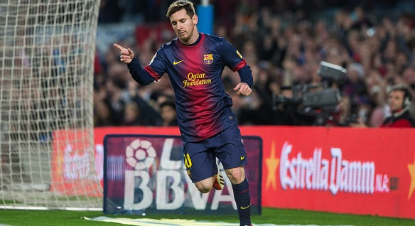 Messi put up another record to his name scoing in 21 consecutive games