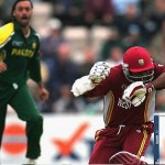 Shoaib Akhtar bouncer to Brian Lara