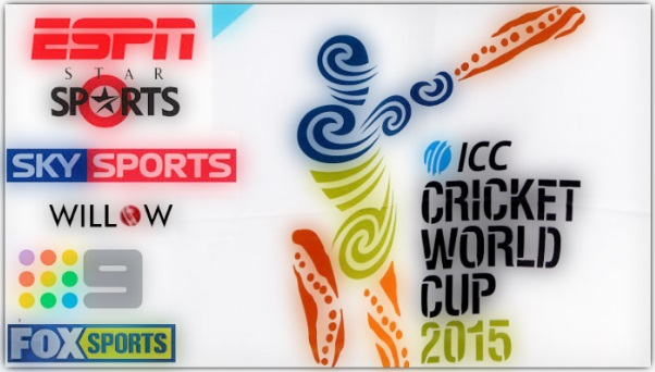 cricket world cup 215 TV Channels