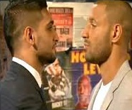 Amir Khan vs Kell Brook fight 2015