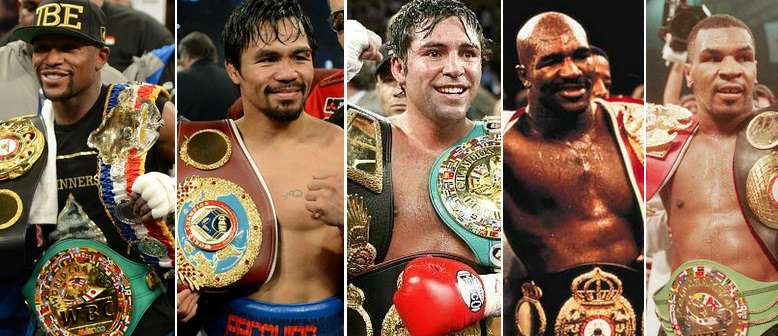 Boxing top PPV performers in history