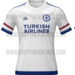 New Chelsea 2015-16 Kits Released