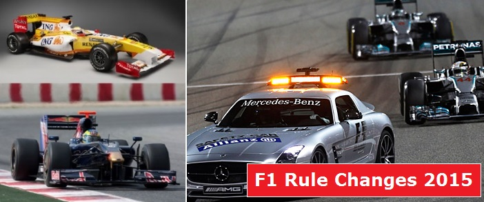 Formula 1 rule changes 2015