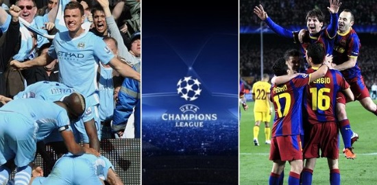 Man City vs Barcelona live stream