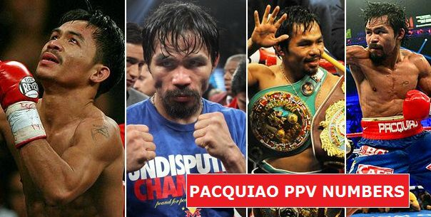 Manny Pacquiao PPV numbers