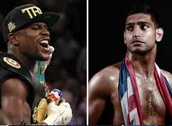 Mayweather vs Amir Khan Fight 2015