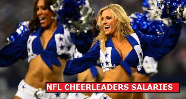 NFL Cheerleaders Salaries 2015