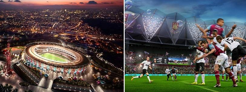 New West Ham Olympic Stadium yearly revenue expectations