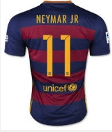 Neymar barcelona jersey second highest selling