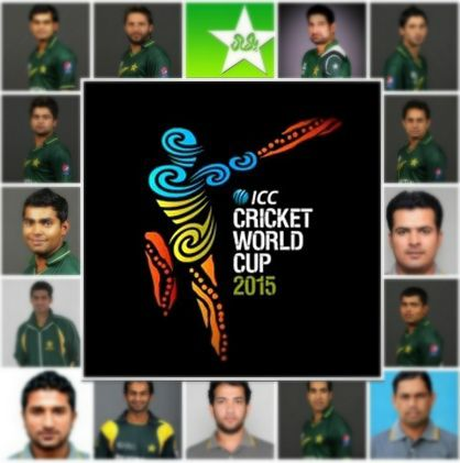Pakistan Squad 2015 Cricket World Cup