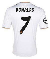 Ronaldo Real madrid shirt