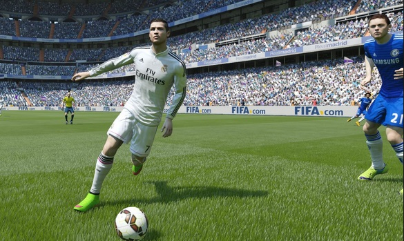 This screen says it all, there is no match of Ronaldo in FIFA 15