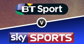 Sky SPorts vs BTSports Premier League rights fight