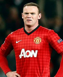 Wayne Rooney weekly salary