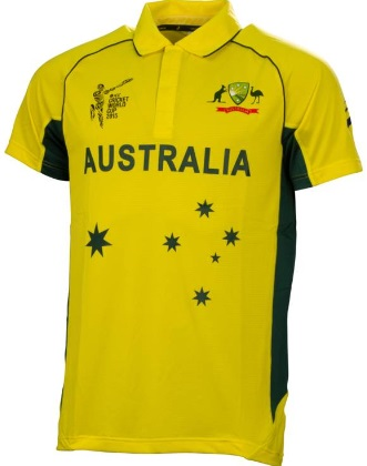 austalian 2015 world cup shirt