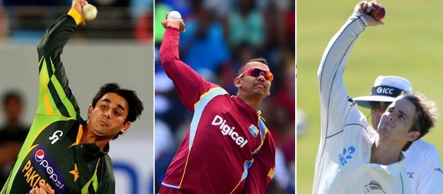 bowlers banned for illegal actions in 2014