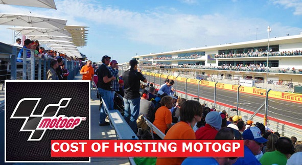 cost of hosting a MotoGP race