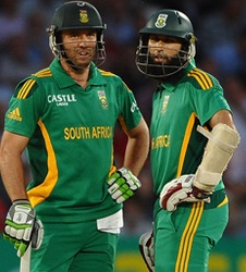 hashim amla and AB De Villiers
