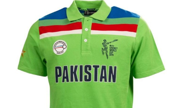 pakistan team shirt cricket world cup 2015