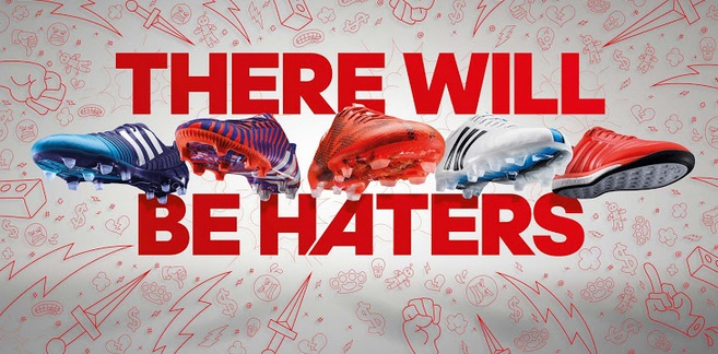 2015 Adidas there will be haters video