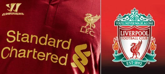 Liverpool new sponsorship deal 2016-17