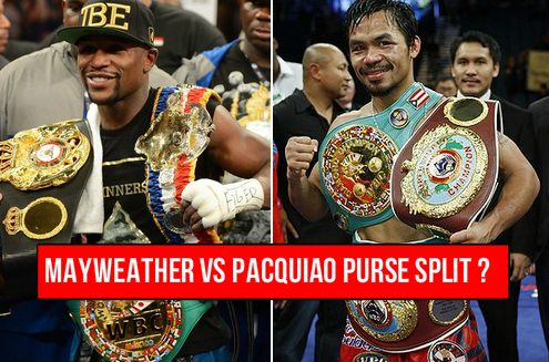Mayweather vs Pacquiao Purse Split