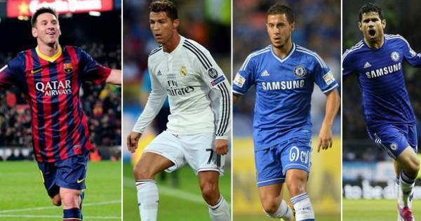 Most Valuable Footballers in 2015