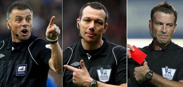 Premier League Referees List 2015