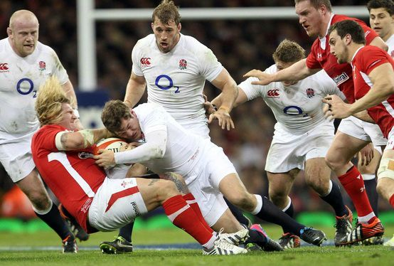 Rugby Union in uk popular sport