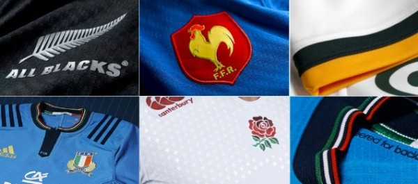 Rugby World Cup 2015 Kits