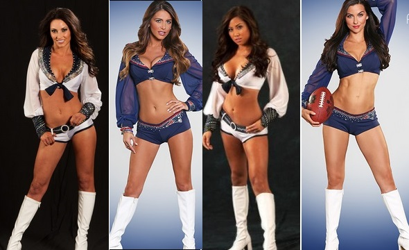 Super Bowl 2015 Hottest Cheerleaders