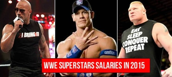 WWE Wrestler Salaries