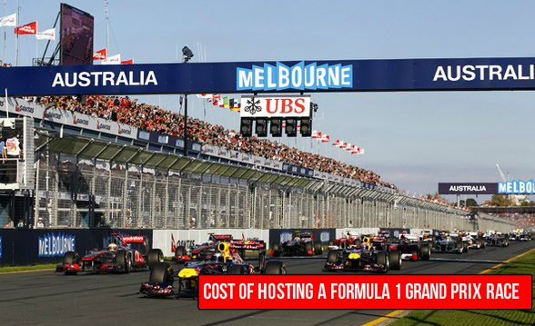 cost of hosting a formula 1 grand prix in 2015