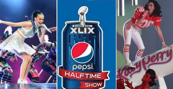katy perry super bowl 2015 halftime show video