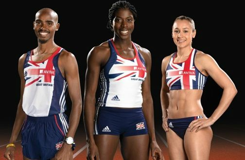 popular sports in uk Athletics