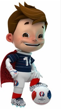 super victor official euro 2016 mascot