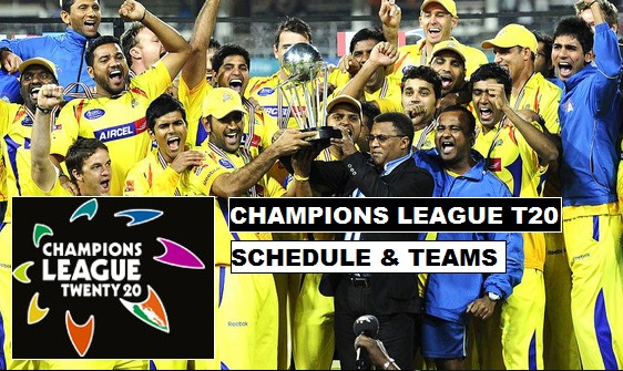2015 Champions League T20 Schedule