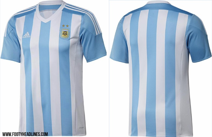 Argentina 2015 Copa America home kit Released