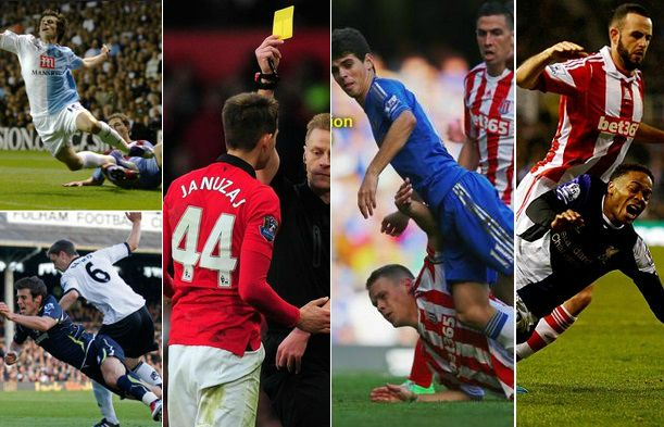 Biggest divers in premier league 2015