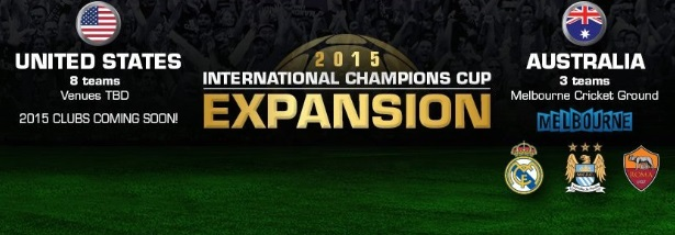 International Champions Cup 2015 schedule venues