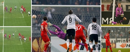 Liverpool vs Besiktas Penalties Video 2015 2nd leg