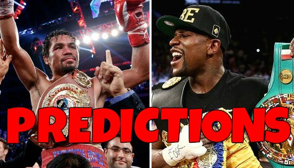 Mayweather vs Pacquiao predictions