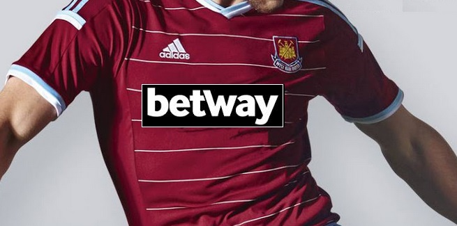 New West Ham Bet way shirt sponsorship deal