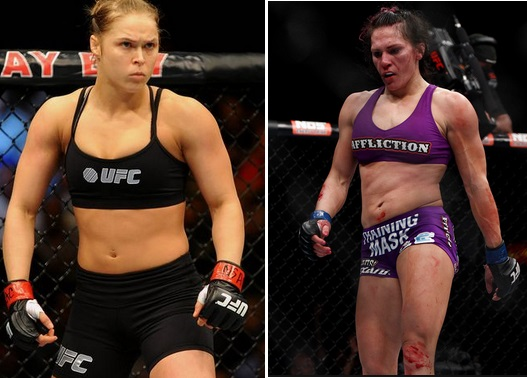Rousey vs Zingano highlights video
