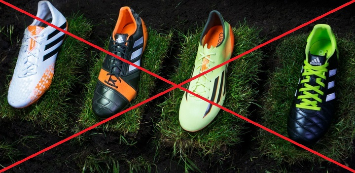 Adidas stop producing Adipure, Nitrocharge, Predator boot series