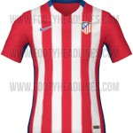 New Atletico Madrid 2015-16 Home & Away Kits (Released)