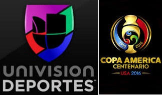 Copa America 2016 tv channels usa