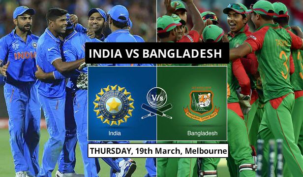 India vs Bangladesh world cup 2015 highlights