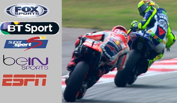 MotoGP TV Channels