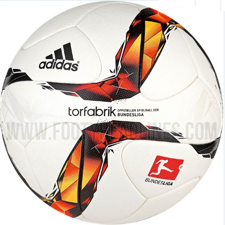 New Adidas torfabrik 2015-16 bundesliga ball